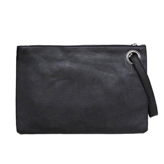 Leather envelope clutch bag - Cozy