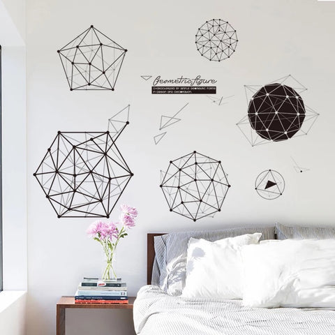 Geometry Wall Decals