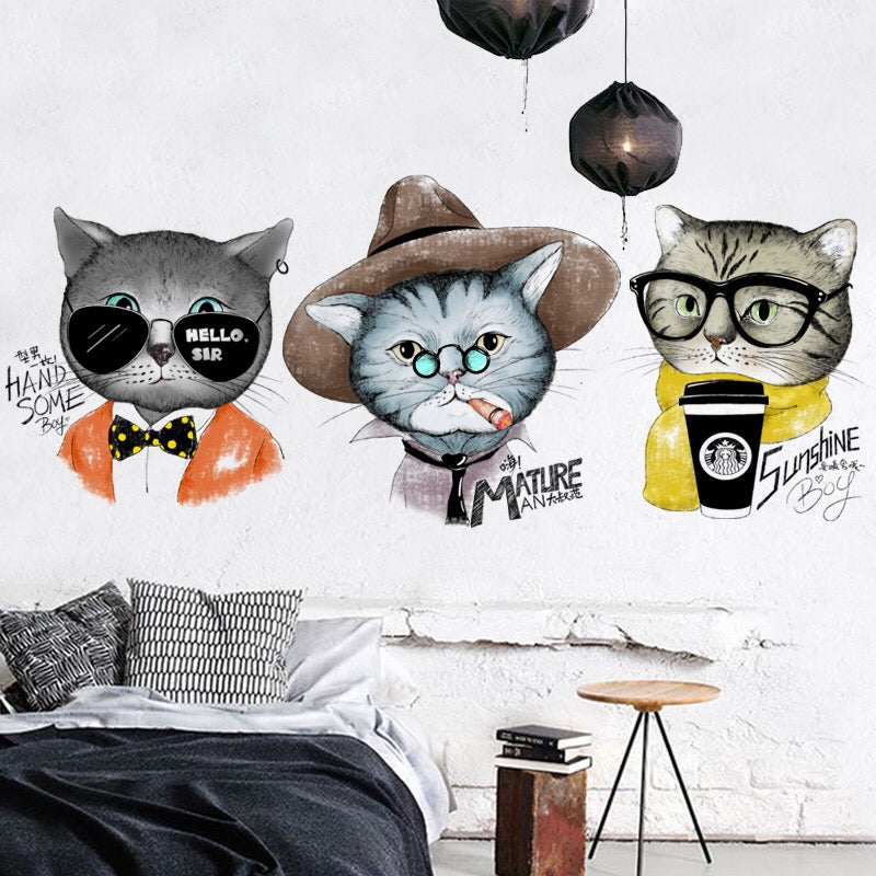 Cat  Wall Decals