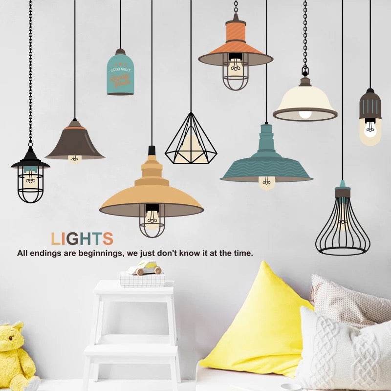 Light Living Room Wall Decals