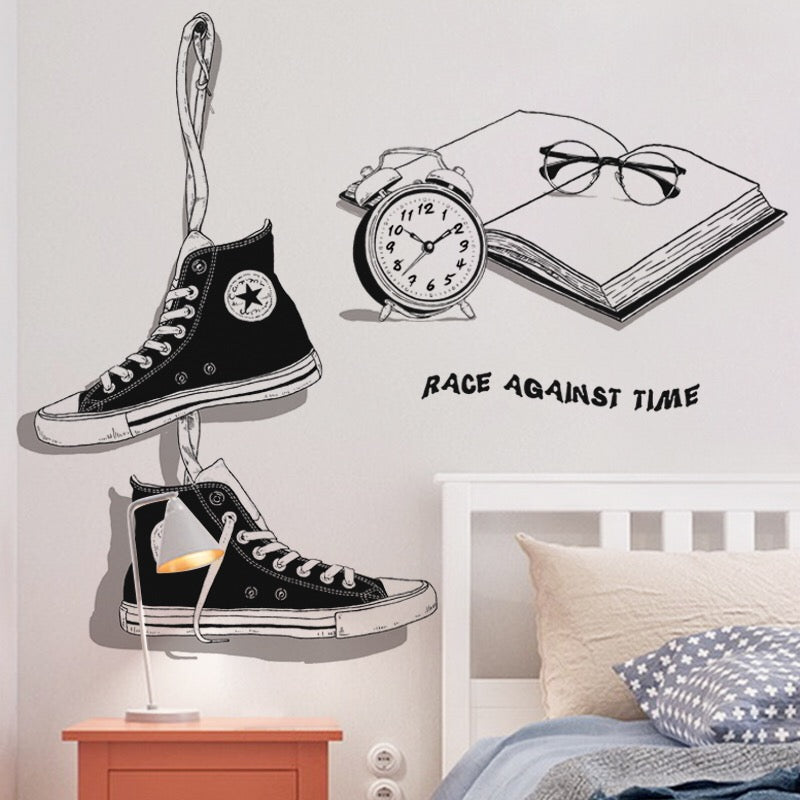 Shoes Wall Decals