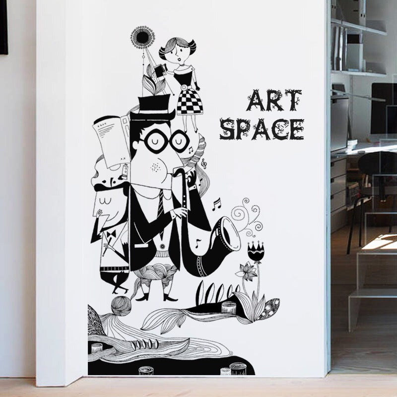 Art Space Wall Decals