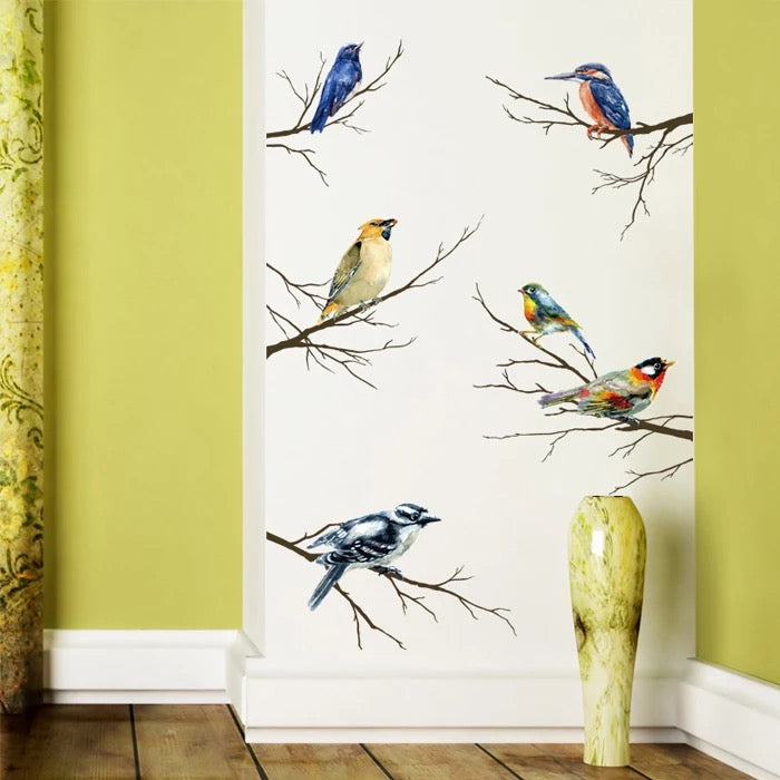 Birds & Branches Wall Decals