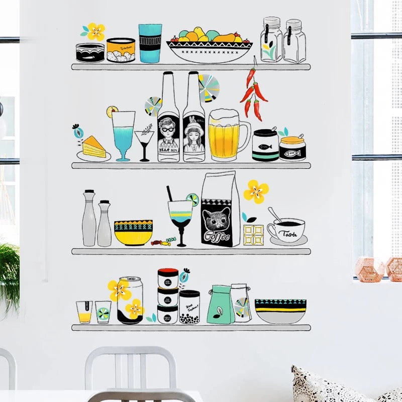 Food Wall Decal