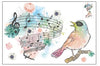 Singing Bird Wall Decal