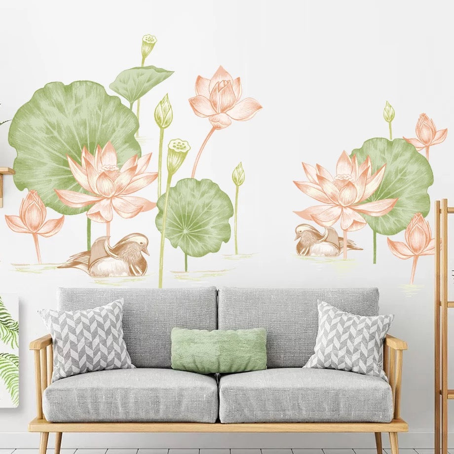 Lotus Wall Decals