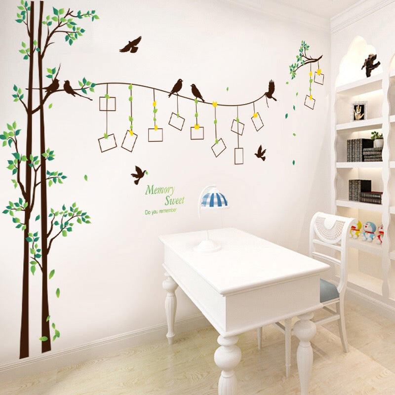 Tree & Photo Frame Wall Decals