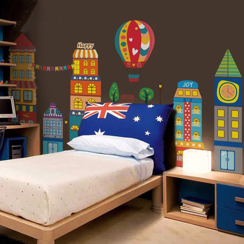 Castle Wall Decals