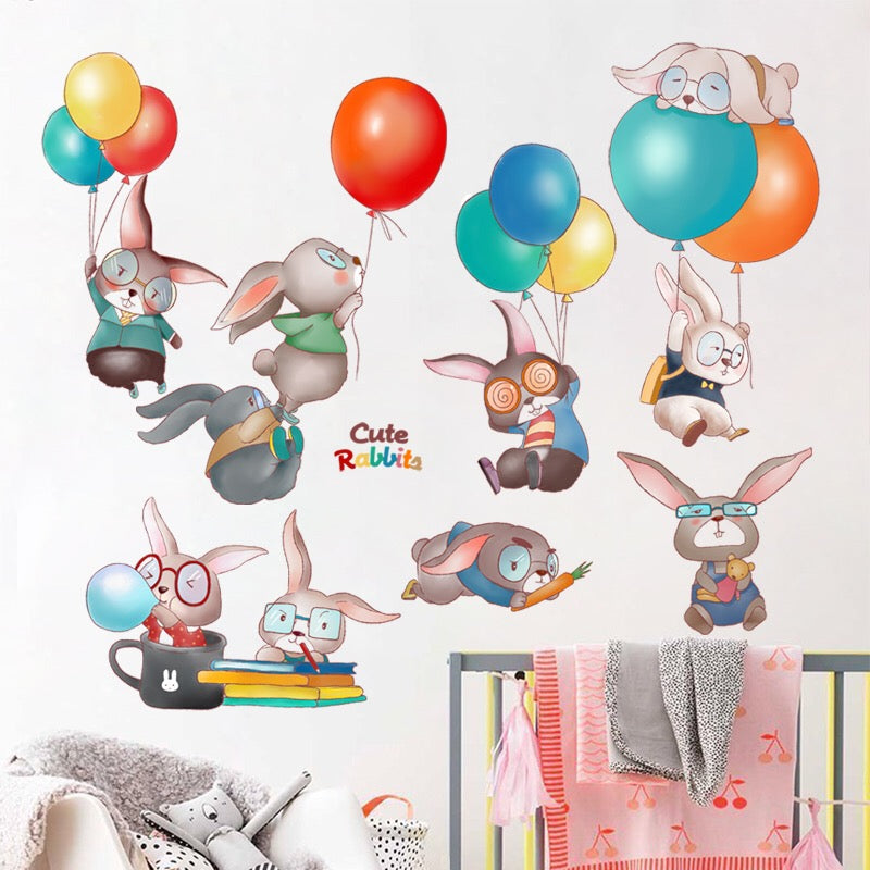 Rabbit  Wall Decals