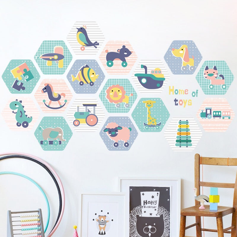 Animals Wall Decals-Nursery Wall decals