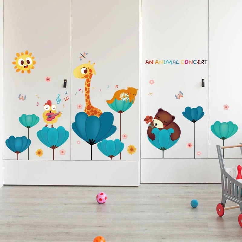 An Animals Concert Wall Decals