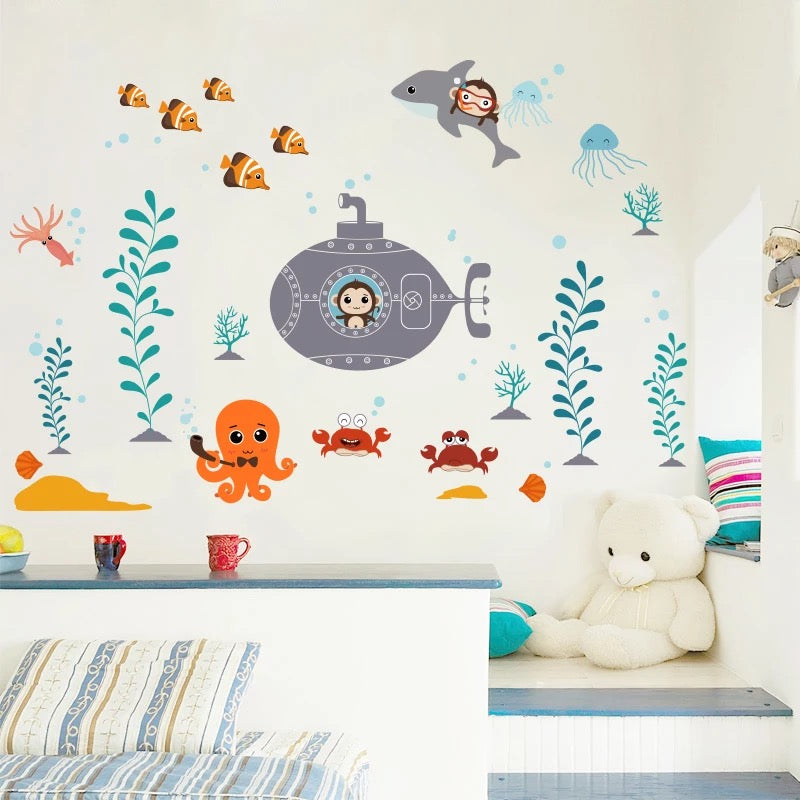 Under The Sea Wall Decals-Kids Wall Decals