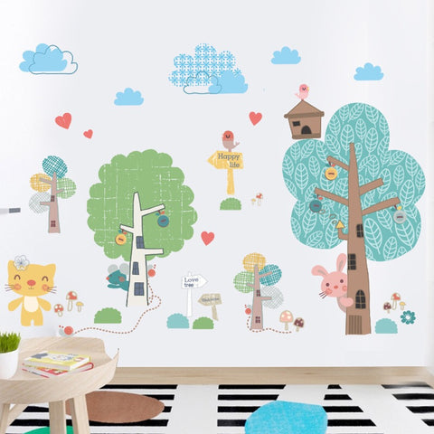 Forest Wall Decals-Kids Wall Decals