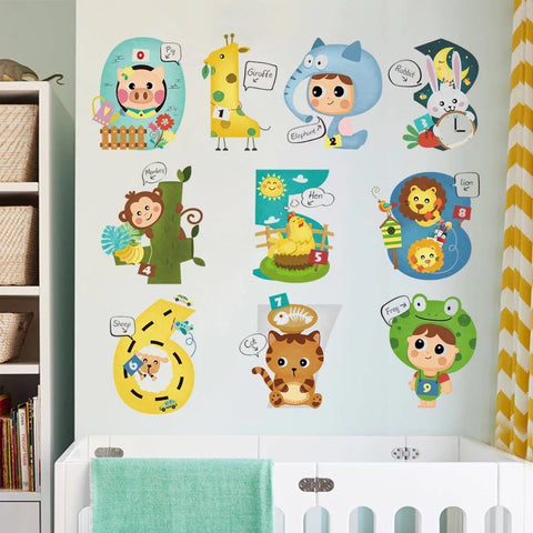 Animals Digital Wall Decals