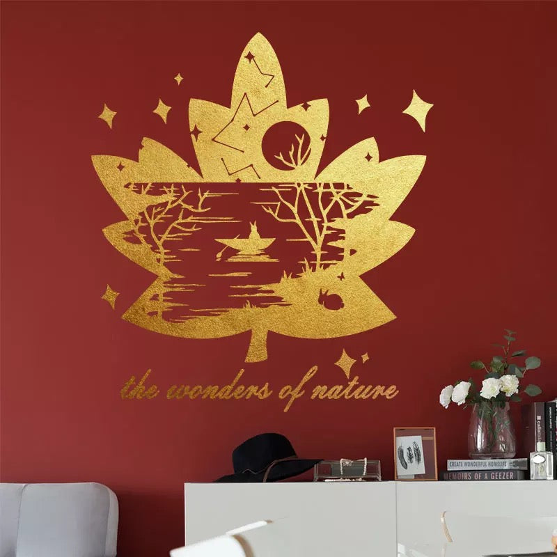 Leaves Wall Decals