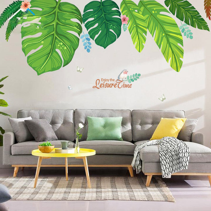 Tropical Wall Decals The Treasure Thrift