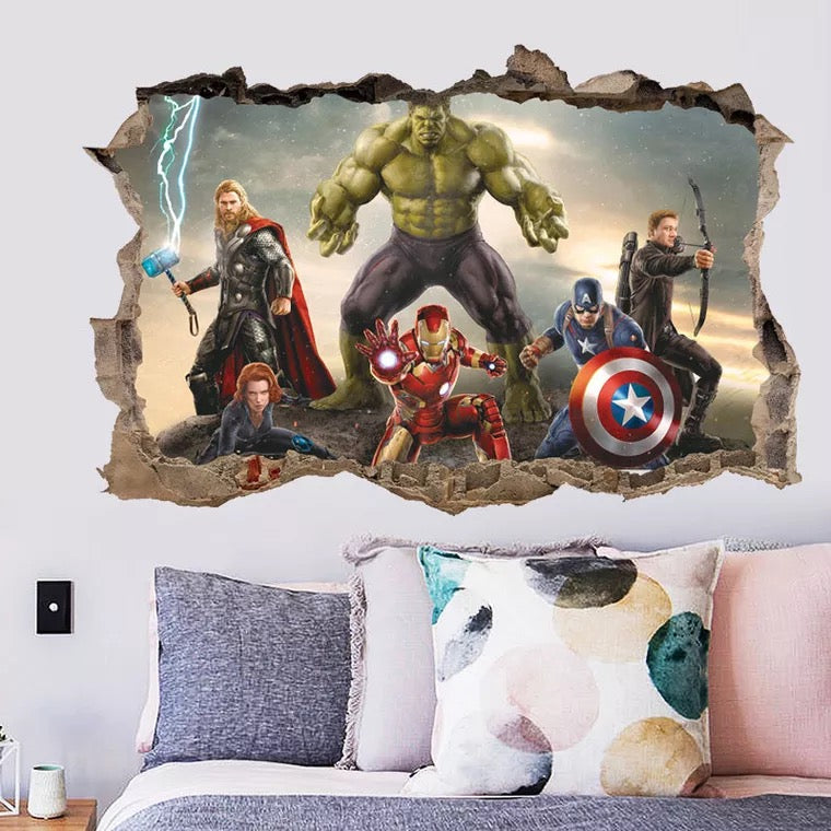 Marvel -Avengers Wall Decals