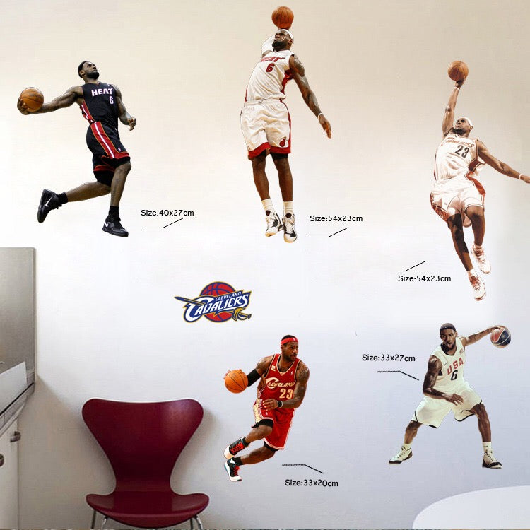 James Wall Decals