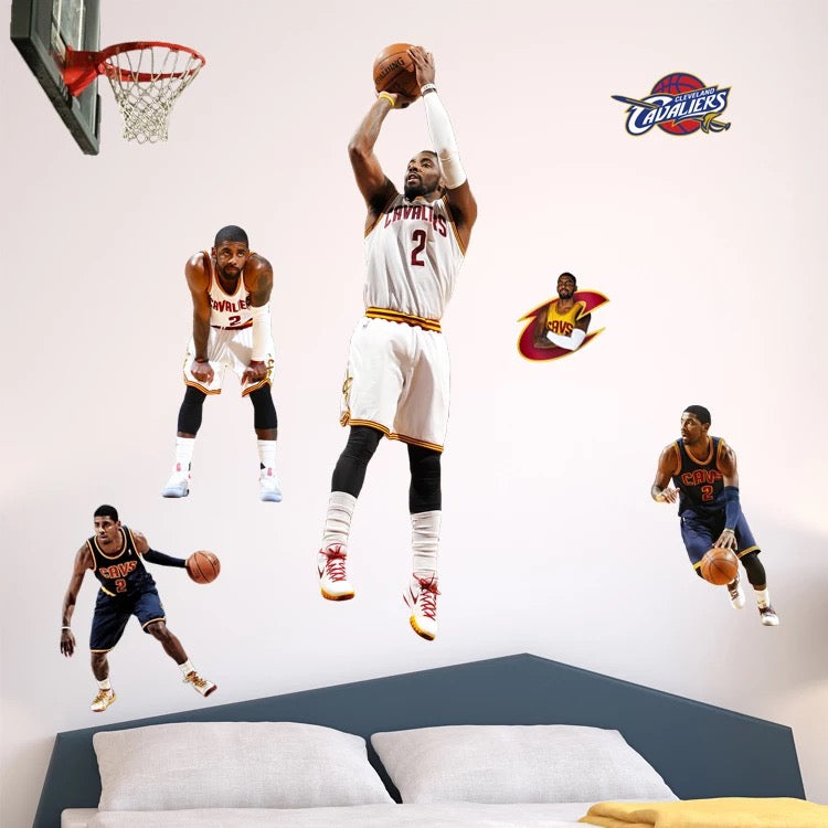 Kyrie Irving Wall Decals