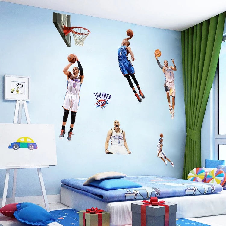Oklahoma City Thunder Wall Decals