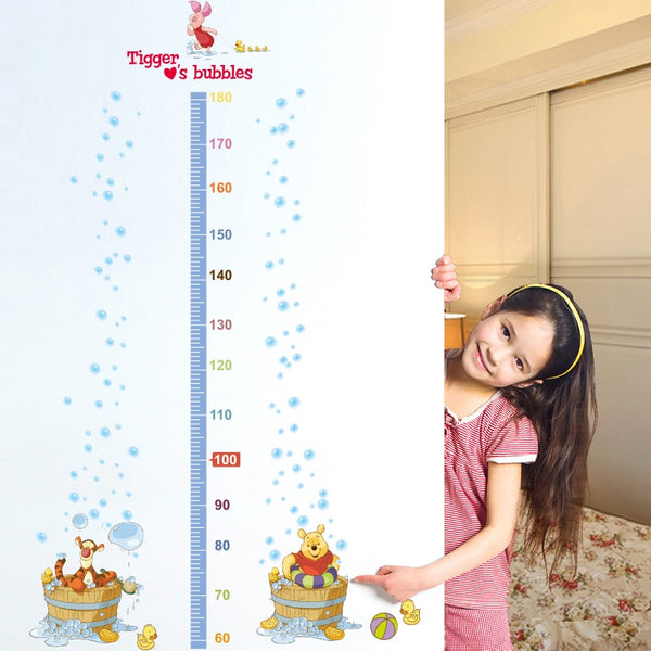 Winnie The Pooh Height Chart Wall Decals The Treasure Thrift