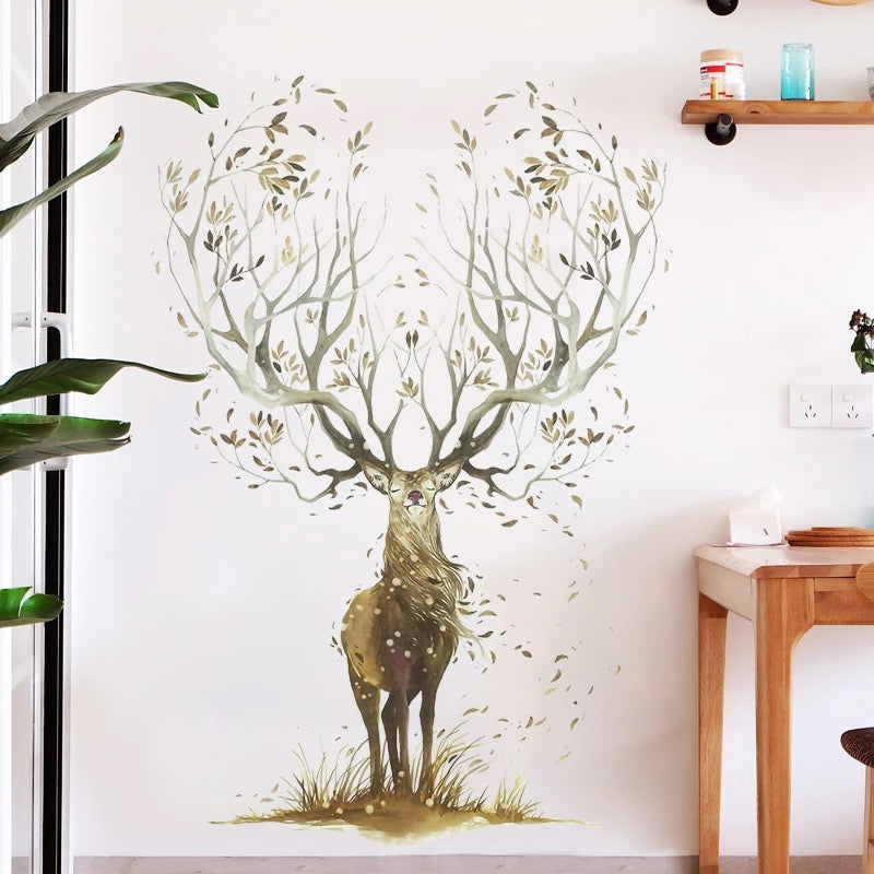 Deer Peel And Stick Wall Decals