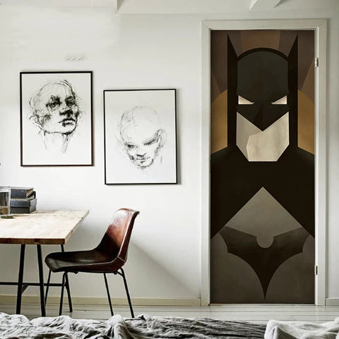 Batman Door Decals