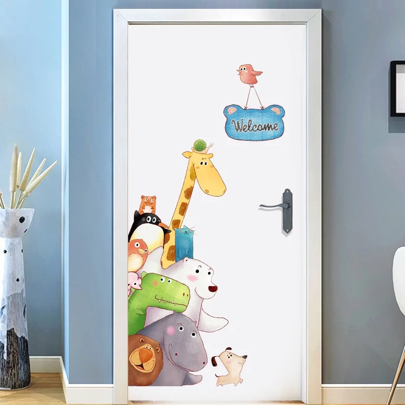 Animals Kids Wall Decals