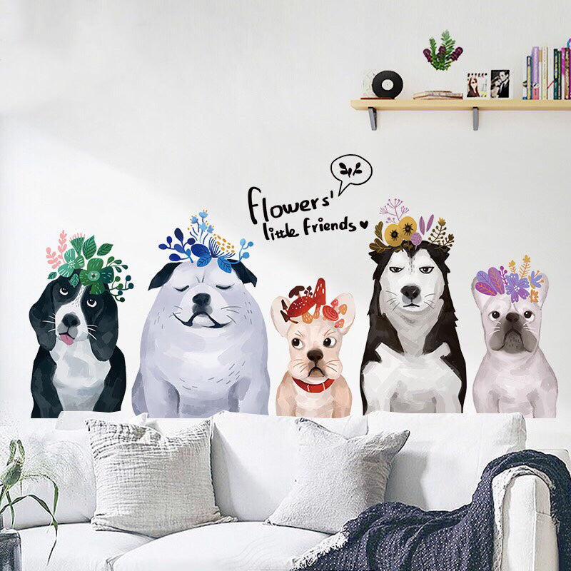 Dog Wall Decals The Treasure Thrift