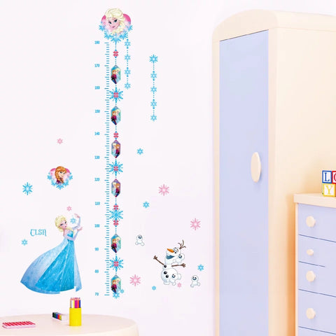 Frozen Height Chart Wall Decal