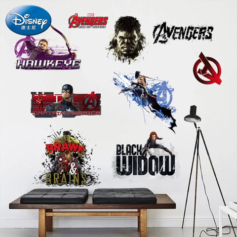 Marvel Superheroes Wall Decals