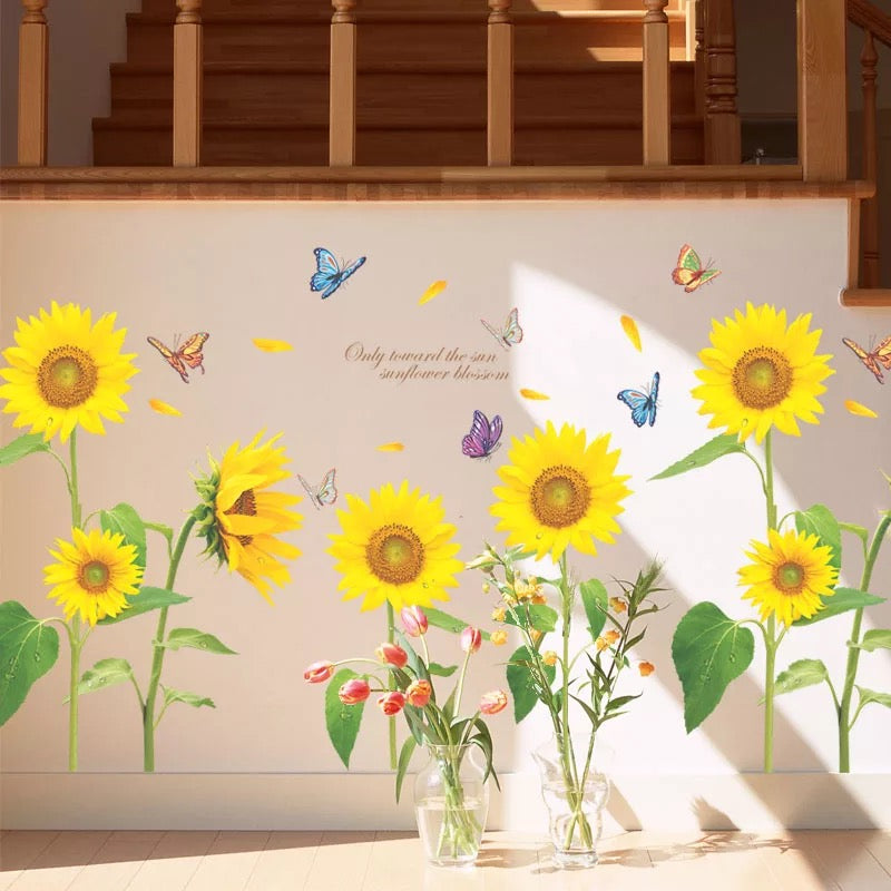 Sunflowers Wall Stickers