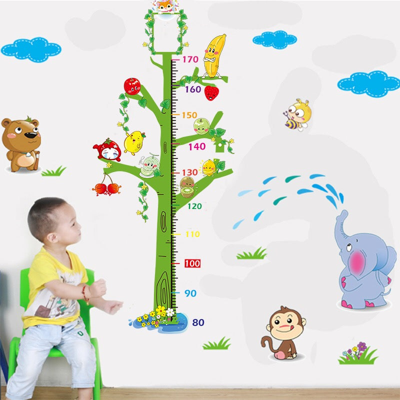 Child Height Chart Wall Decals