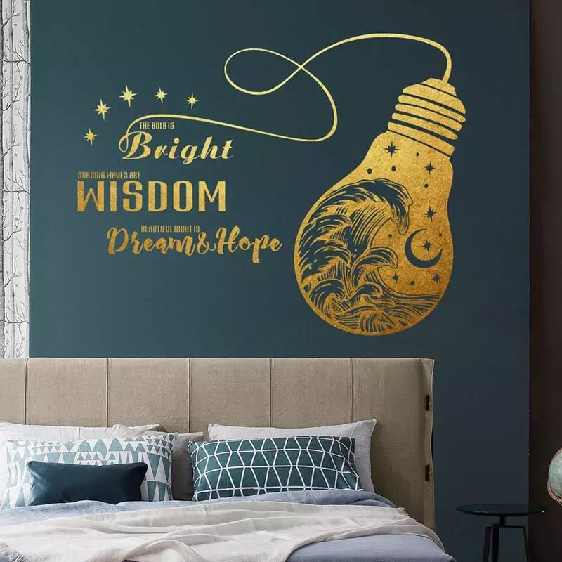 Bulb Wall Decal