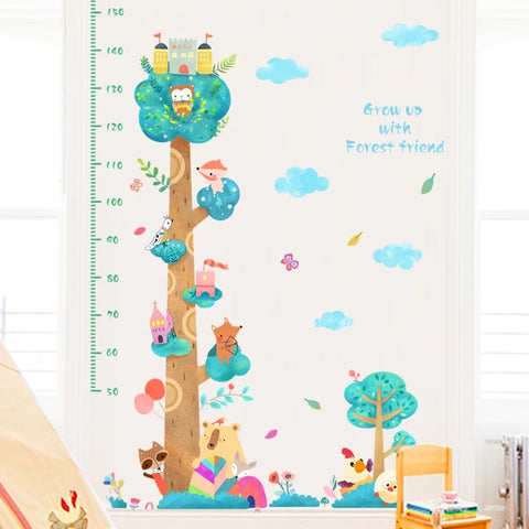 Child Height Chart Stickers