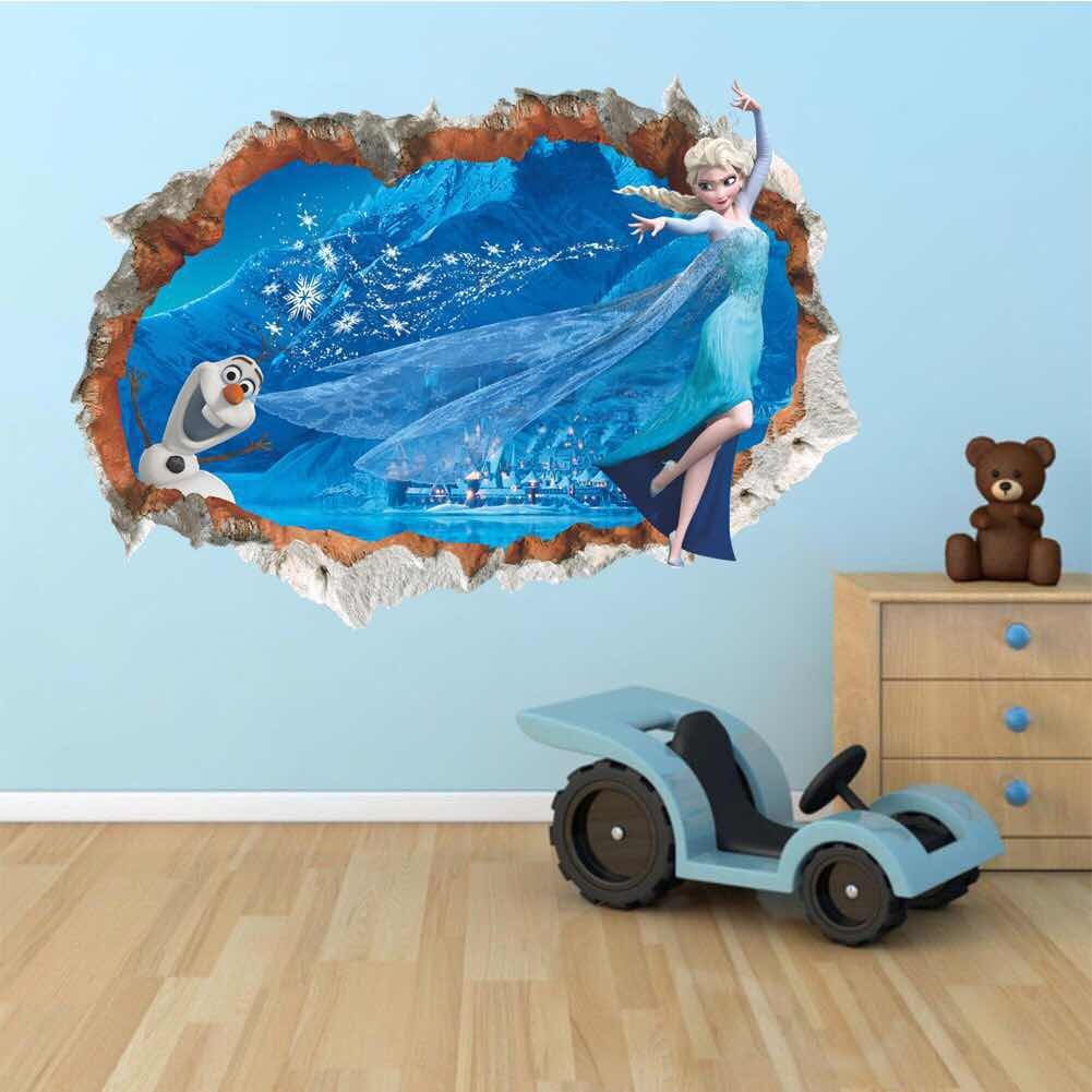 Disney Frozen Elsa & Olaf Wall Stickers