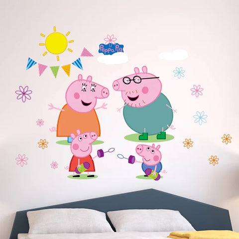 Peppa Pig Wall Stickers