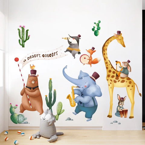 Safari Animal Wall Decal