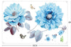 Flowers Wall Decals-Wall Art Decals