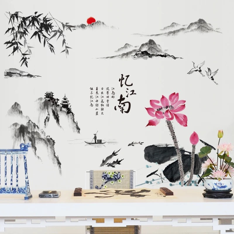 Chinoiserie Wall Stickers