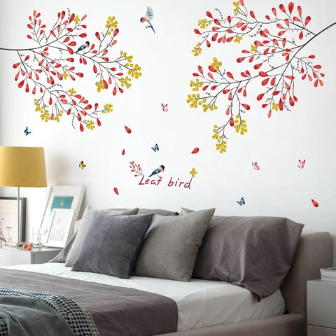 Branches & Birds Wall Stickers