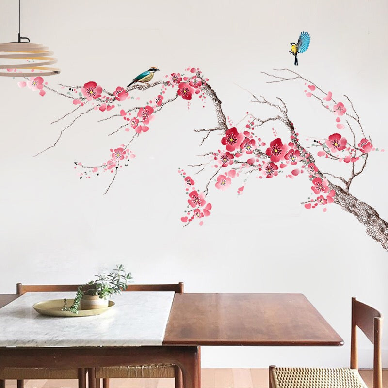 Chinoiserie Removable Wall Decals