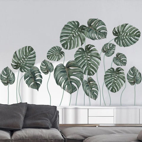 Palm Leaves Wall Decals
