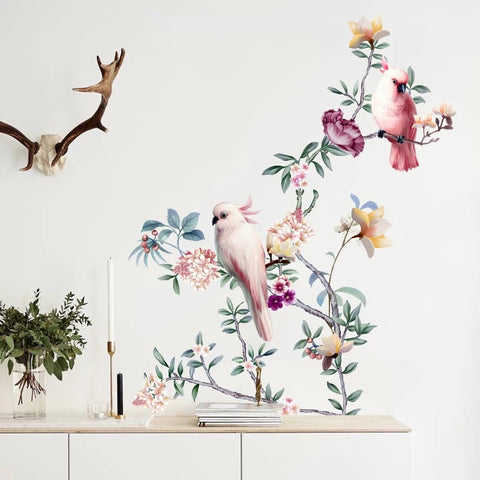 Branches & Birds Wall Decals