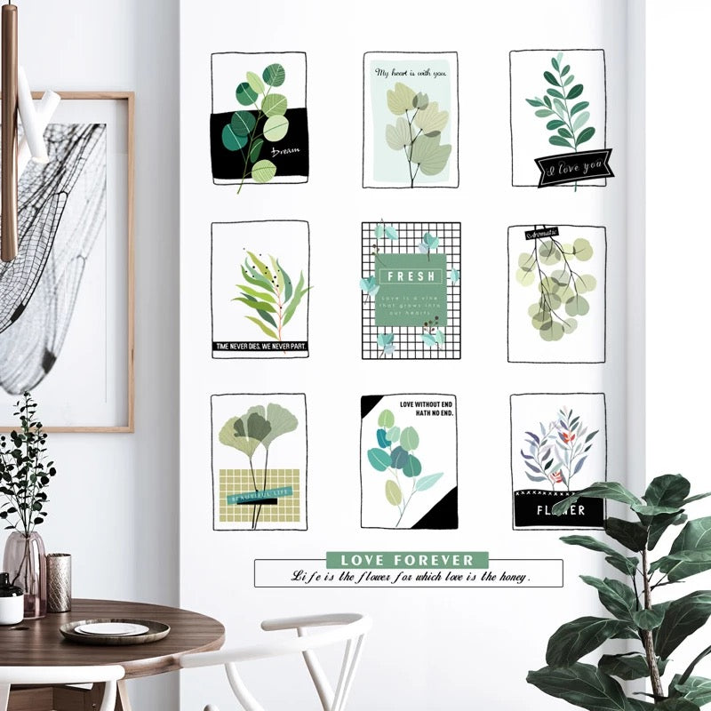 Plants Wall Decals