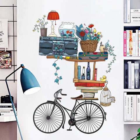 Bicycle Wall Decals