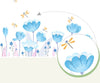 Little Flower Wall Decals