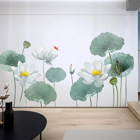 Lotus Flowers Wall Decals