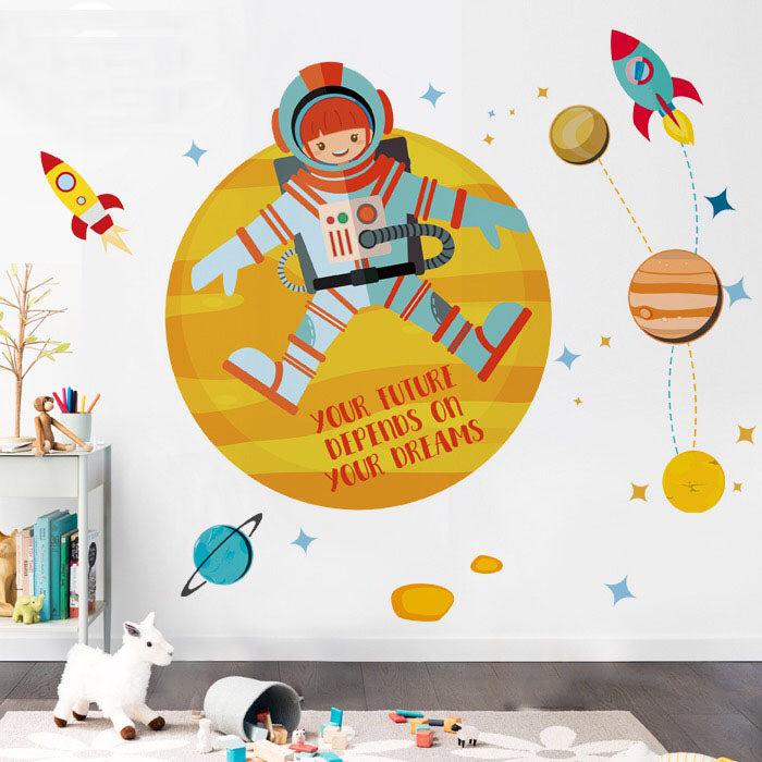 Planet Wall Decals For Kids