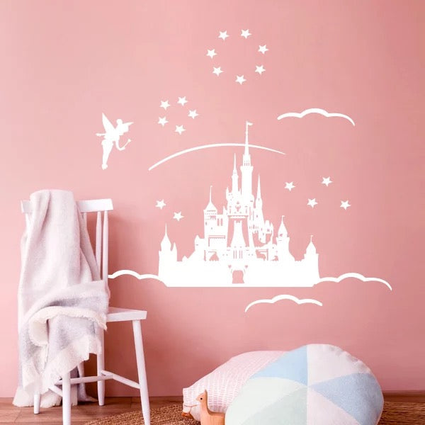 Castle & Fairy Wall Decals